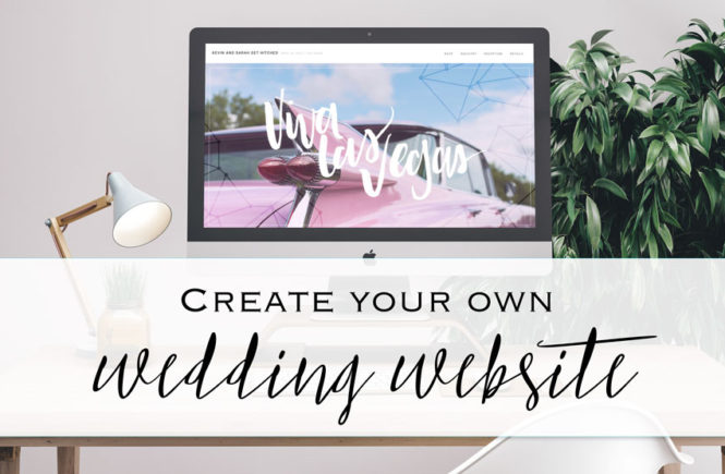 Design And Create Your Own Wedding Website