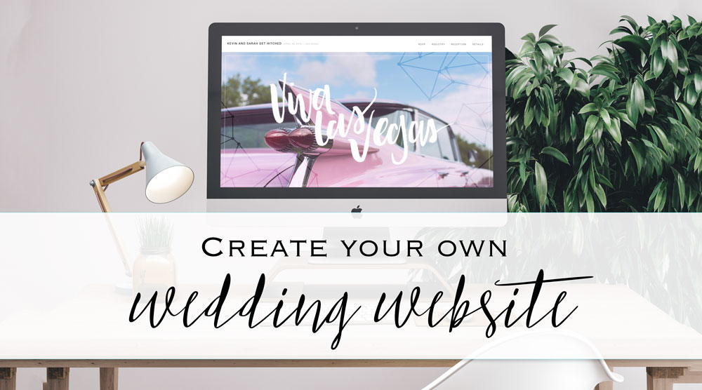 Design And Create Your Own Wedding Website Sarah Types