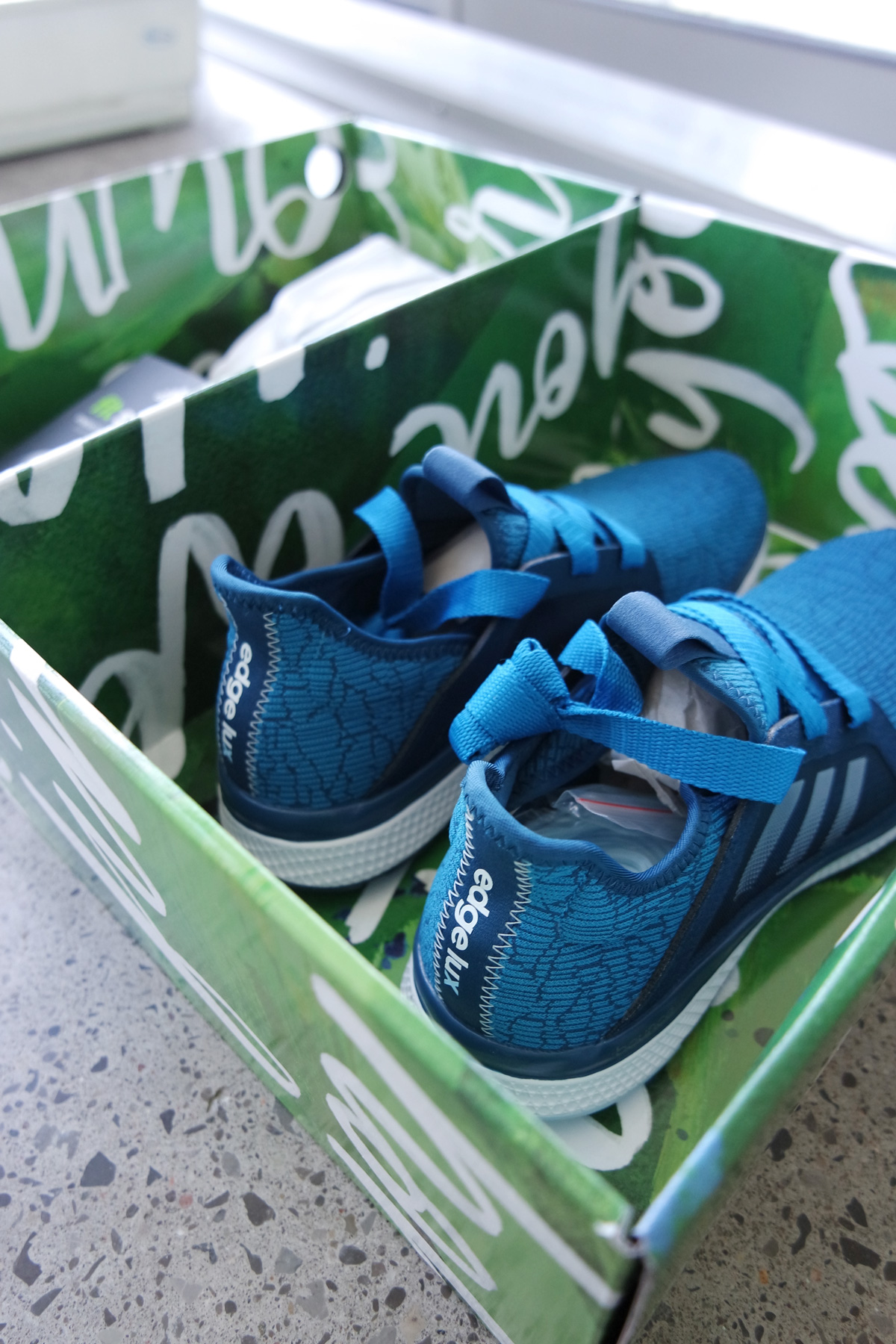 Hand Lettered Adidas Subscription Box