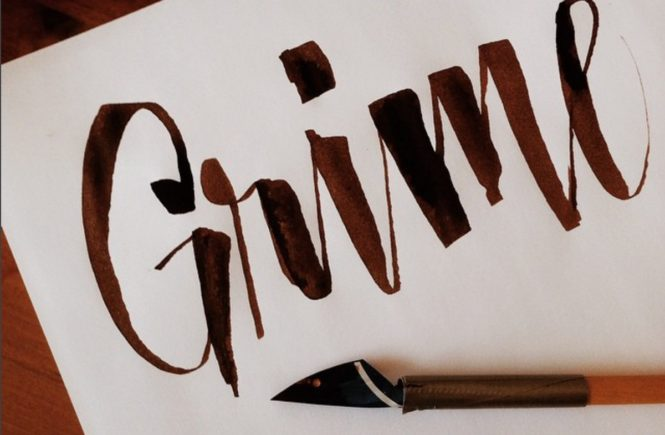 Beginner s guide to modern calligraphy sarah types