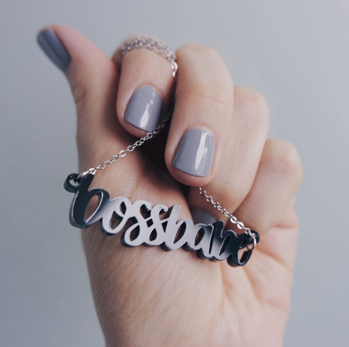 New Hand Lettered Laser Cut Accessories - Sarah Types
