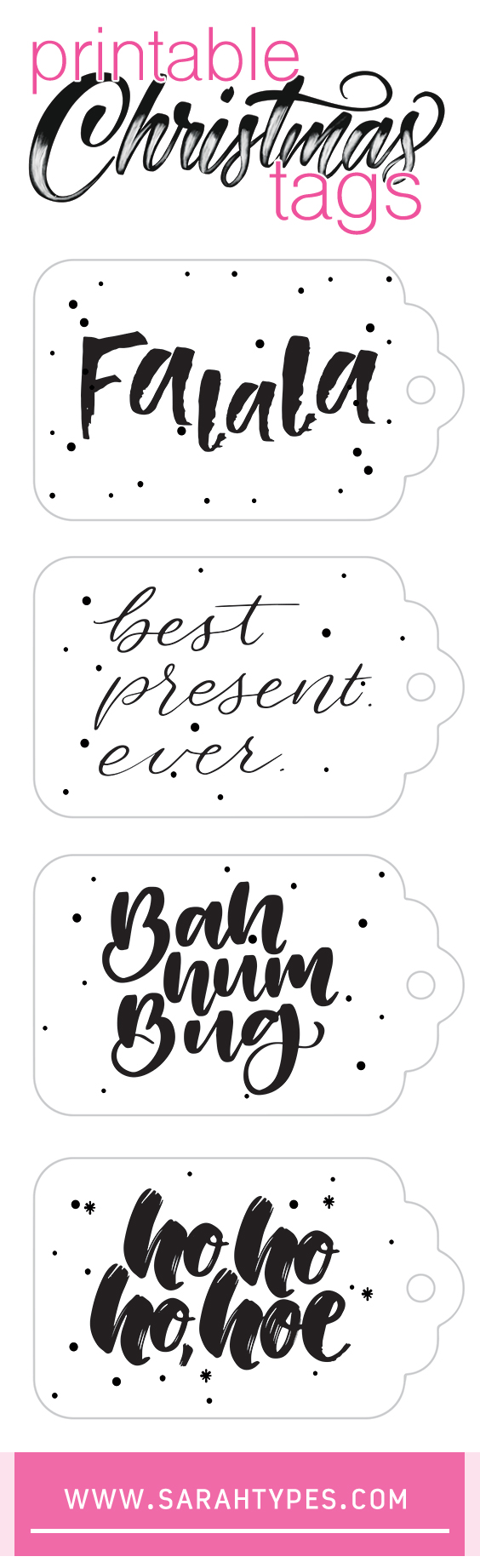 Printable Christmas Present Tags